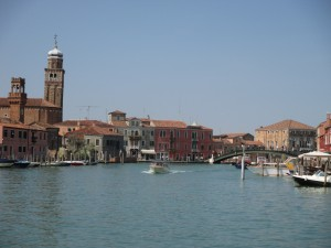 Murano, Italy - who knew this would be a gateway to a vineyard?